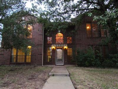 Leander Single Family Home For Sale: 500 Deercreek Ln