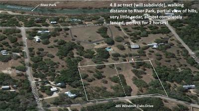 Residential Lots & Land For Sale: 201 Windmill Oaks Dr