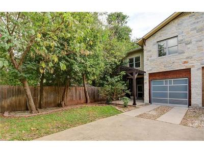 Austin Condo/Townhouse For Sale: 804 E 47th St #D