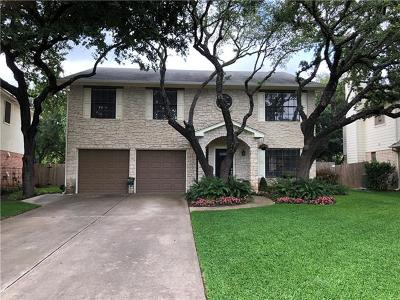 Round Rock Single Family Home Pending - Taking Backups: 8417 Glen Canyon Dr