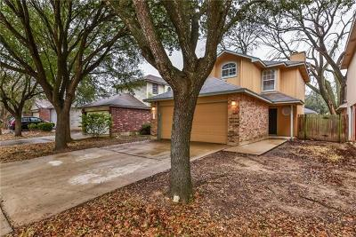 Round Rock Single Family Home Pending - Taking Backups: 2238 Jasmine Path