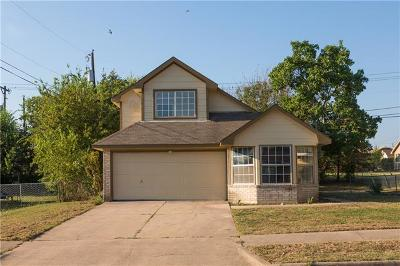 Killeen Single Family Home For Sale: 2306 Bluejay Dr