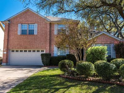 Cedar Park Single Family Home For Sale: 1706 Tracy Miller Ln