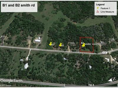 Bastrop Residential Lots & Land For Sale: TBD Smith Road Rd