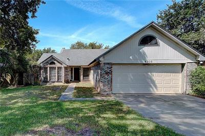 Travis County, Williamson County Single Family Home Pending - Taking Backups: 8305 Racine Trl