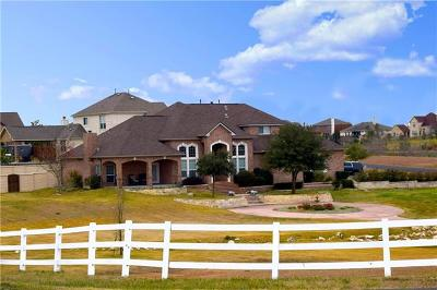 Hutto TX Single Family Home For Sale: $500,000