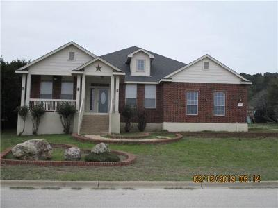 Harker Heights Single Family Home For Sale: 2012 Blue Heron Ln