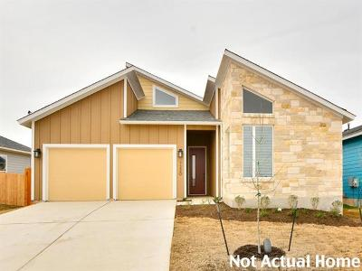 Manor Single Family Home For Sale: 11717 American Mustang Loop