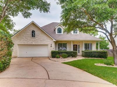 Travis County Single Family Home Pending - Taking Backups: 9306 Le Conte Cv