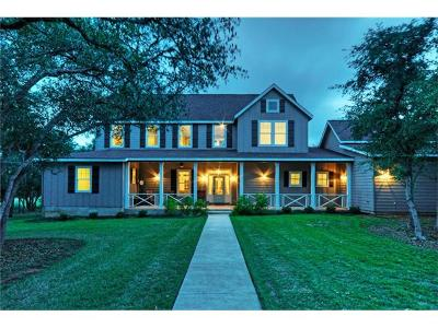 Dripping Springs Single Family Home For Sale: 129 Cypress Springs Trl