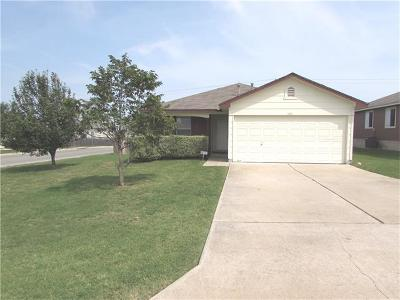 Hutto Single Family Home Pending - Taking Backups: 240 Saint Marys Dr