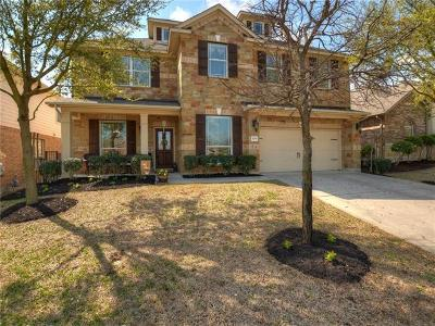 Round Rock Single Family Home For Sale: 1729 Woodvista Pl