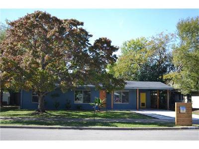 Travis County Single Family Home Pending - Taking Backups: 7202 East Crest Dr