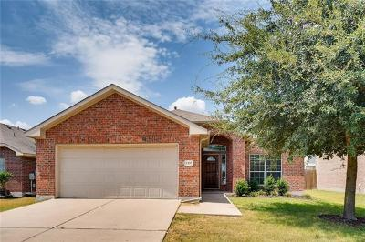 Pflugerville, Round Rock Single Family Home For Sale: 1337 Rainbow Parke