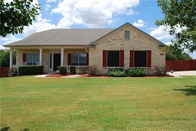 Liberty Hill Single Family Home For Sale: 630 Speed Horse