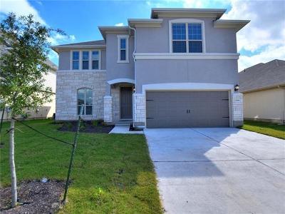 Pflugerville Single Family Home For Sale: 17021 Casanova Ave