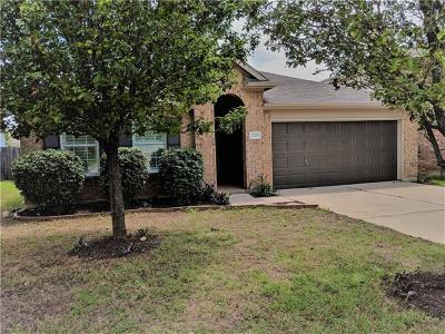 Cedar Park Single Family Home For Sale: 2208 John Tee Dr