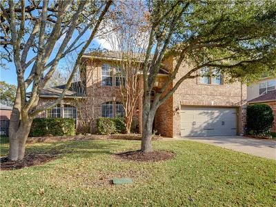 Round Rock Single Family Home For Sale: 3732 Galena Hills Loop