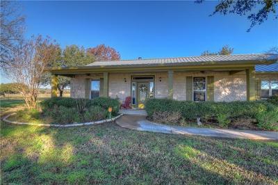 Marble Falls Single Family Home Pending - Taking Backups: 550 Timber Ridge Rd