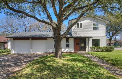 Austin Single Family Home For Sale: 2100 Lanier Dr #A