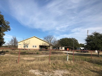 Lampasas Single Family Home For Sale: 2812 County Road 205