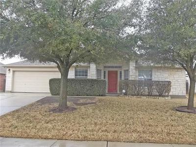Pflugerville Single Family Home For Sale: 18804 Caisteal Castle Path