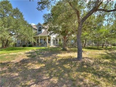 Dripping Springs Single Family Home For Sale: 11201 Bonham Ranch Rd #9