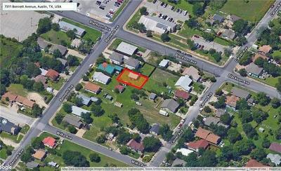 Austin Residential Lots & Land For Sale: 7311 Bennett Ave #B