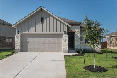 Hutto Single Family Home For Sale: 115 Eli Whitney Way