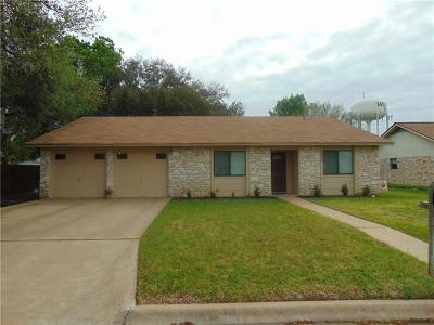 Taylor Single Family Home Pending - Taking Backups: 2902 Crystal Cir