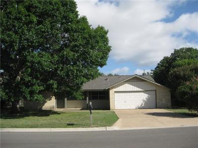 Georgetown Single Family Home Pending - Taking Backups: 803 River Bend Dr