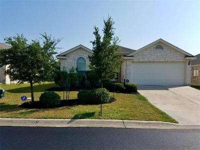 Pflugerville Single Family Home For Sale: 18905 NE Keeli Ln