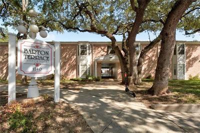 Condo/Townhouse For Sale: 1240 Barton Hills Dr #108