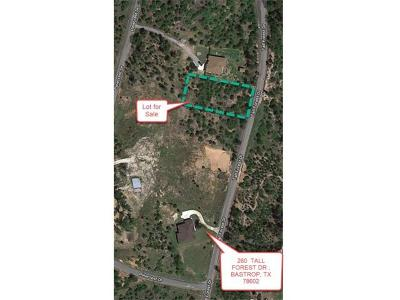 Bastrop Residential Lots & Land For Sale: 241 Tall Forest Dr