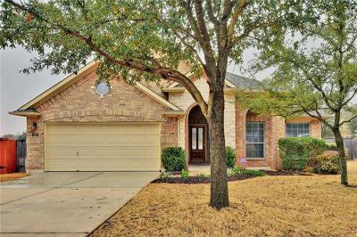 Cedar Park Single Family Home For Sale: 309 Steer Acres Ct