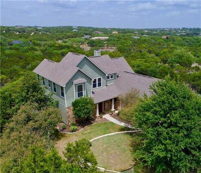 Dripping Springs Single Family Home For Sale: 10947 West Cave Blvd