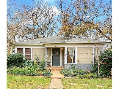 Travis County Single Family Home For Sale: 1717 W 30th St