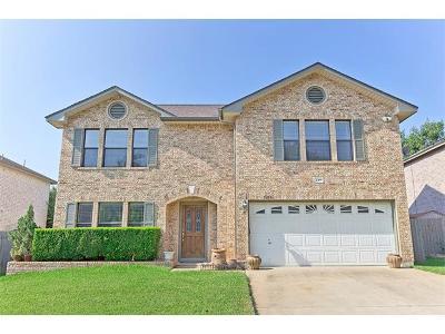 Cedar Park Single Family Home For Sale: 1305 Chalk Ln