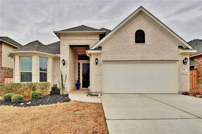 Leander Single Family Home For Sale: 2345 Broken Wagon Dr