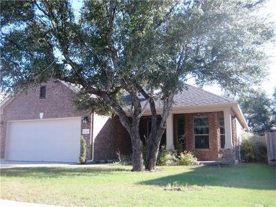 Leander Single Family Home For Sale: 2228 Lookout Range Dr