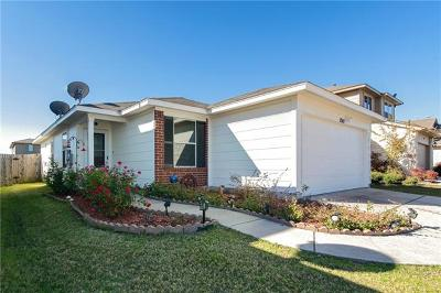 Manor Single Family Home Pending - Taking Backups: 12411 Stoneridge Gap Ln