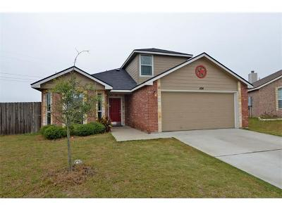 Williamson County Single Family Home For Sale: 104 Lignite Dr