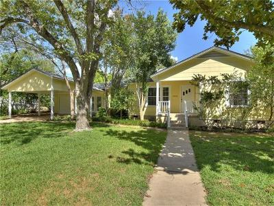 Travis County Single Family Home For Sale: 5703 Wynona Ave