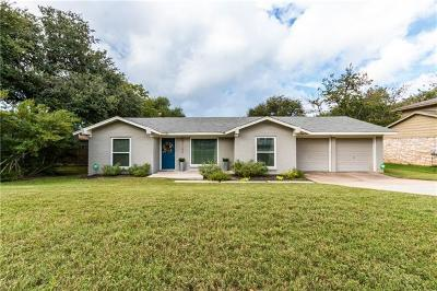 Travis County Single Family Home Pending - Taking Backups: 7102 Meadowood Dr