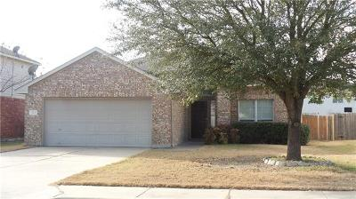 Hutto Rental For Rent: 123 Aguilar Dr