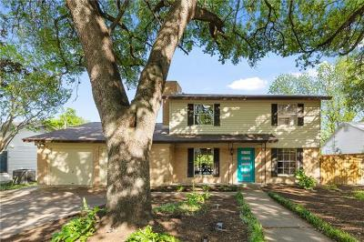 Single Family Home For Sale: 5909 Walnut Hills Dr