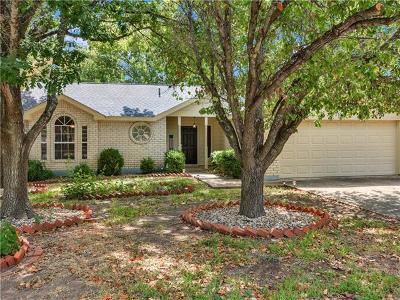 Round Rock Single Family Home For Sale: 2109 Willow Way
