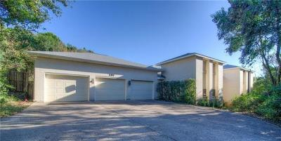 West Lake Hills TX Single Family Home Pending - Taking Backups: $795,000