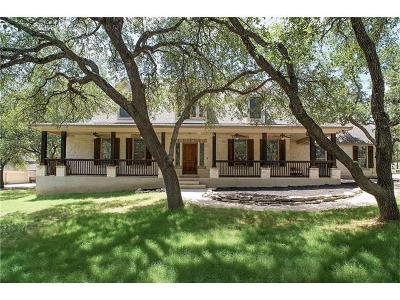 Dripping Springs Single Family Home For Sale: 603 Winchester Dr
