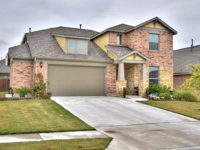 Round Rock Single Family Home For Sale: 5647 Corsica Loop